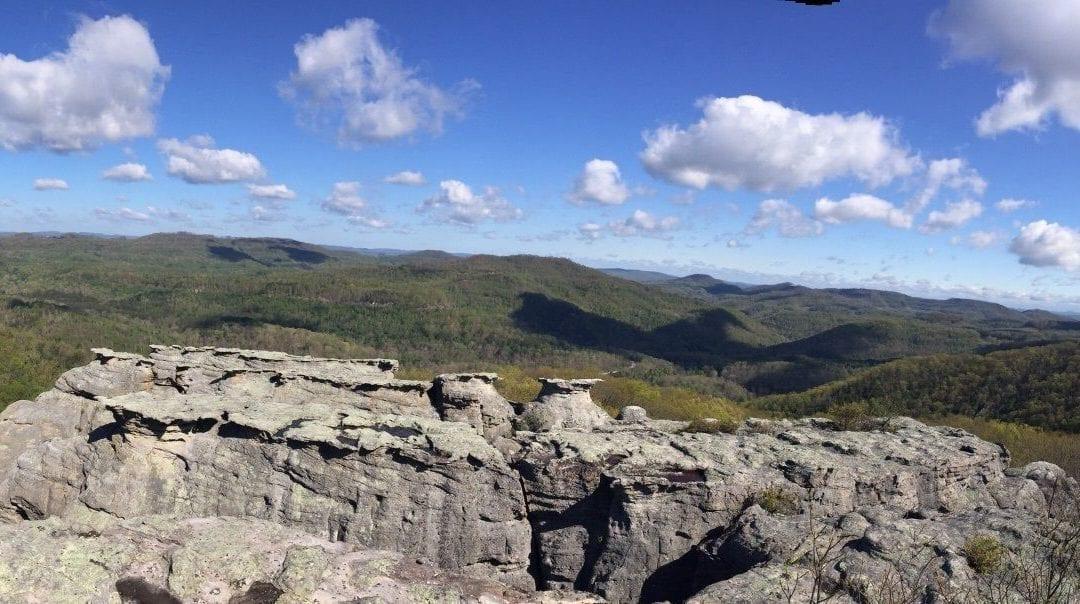 Chimney Rocks via Cumberland Trail