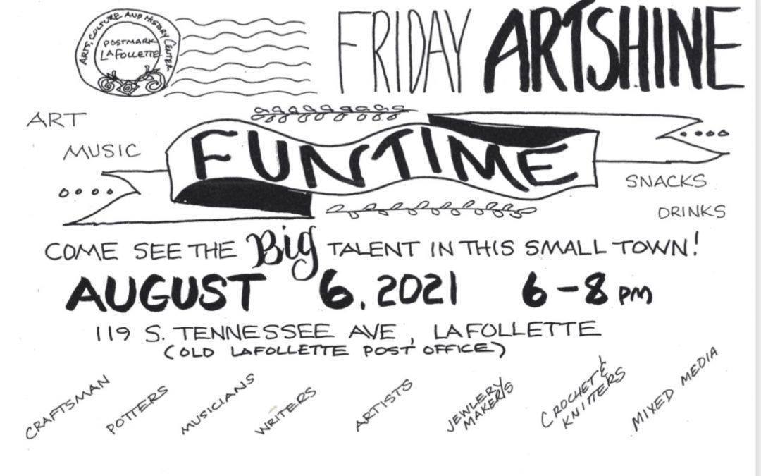 ArtSHINE Evening – FunTIME Friday